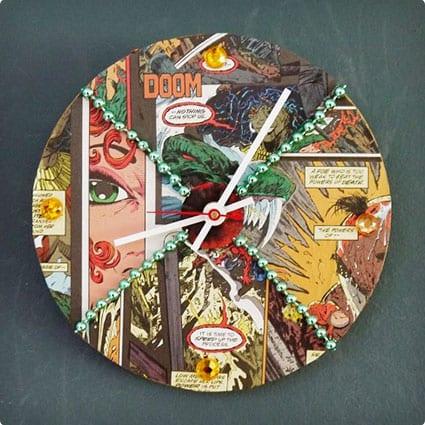 DIY Comic Con Inspired Clock