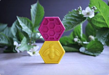 DIY Honeycomb Crayons