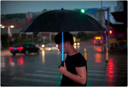 LED Lightsaber Umbrella