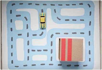 Toy Car Road