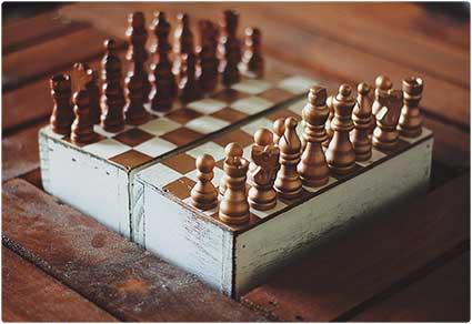 Traveling Chess Set