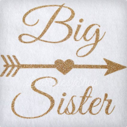 Big Sister Iron On