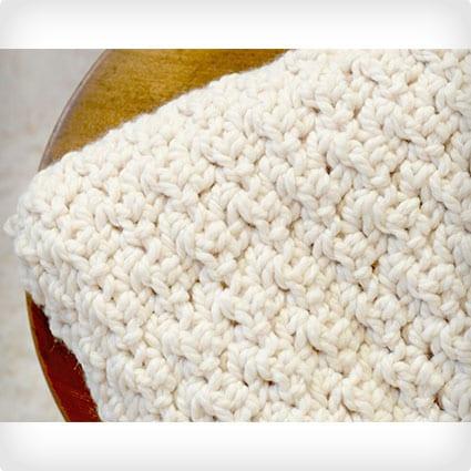 DIY Chunky Icelandic Crochet Blanket