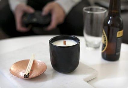 DIY Man Candle