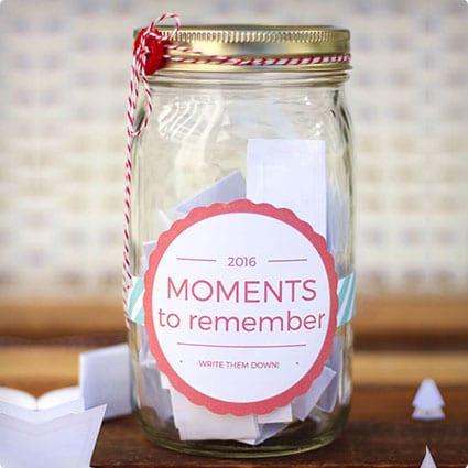 DIY Memory Jar