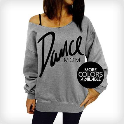 Dance Mom Slouchy Oversized Sweatshirt