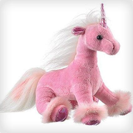 Dreamy Eyes Heavenly Pink Unicorn