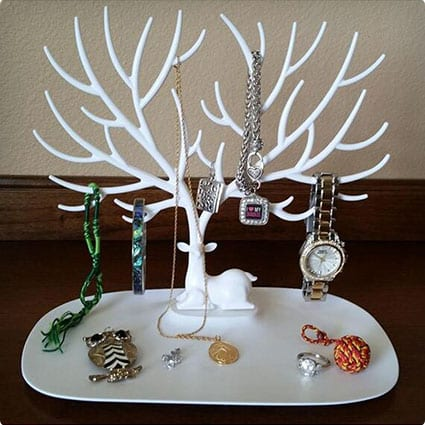Elk Jewelry Display Tower