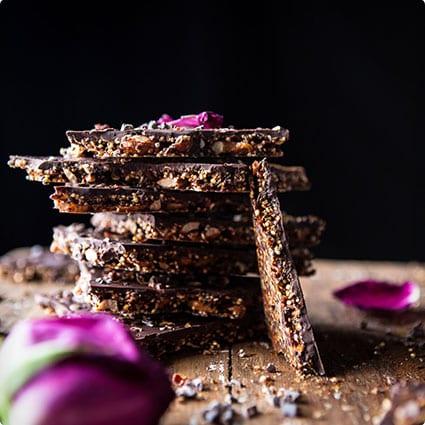 Homemade Superfoods Chocolate Bark