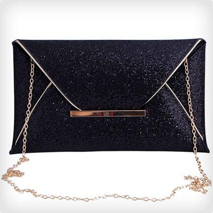 Jubileens Women Glitter Sequins Handbag