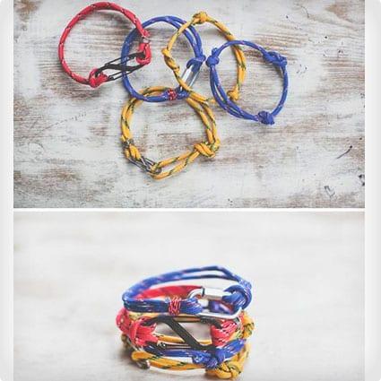 Last Minute Rope Bracelets