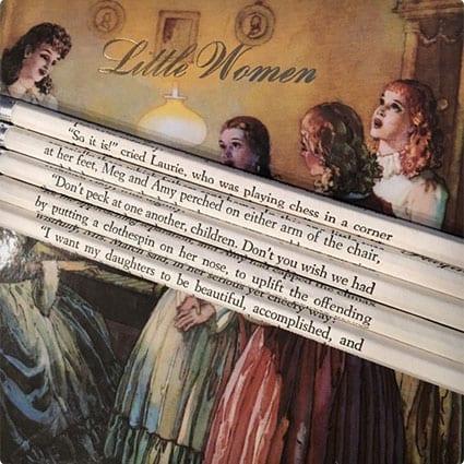 Little Women Pencils
