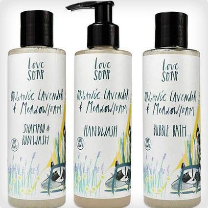 Organic Lavender Bubble Bath
