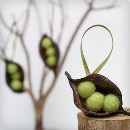 Peas in a Pod Ornament
