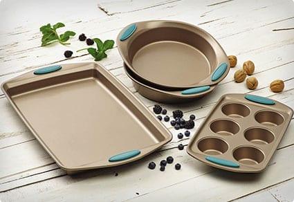 Rachel Ray Cucina 4-Piece Bakeware Set