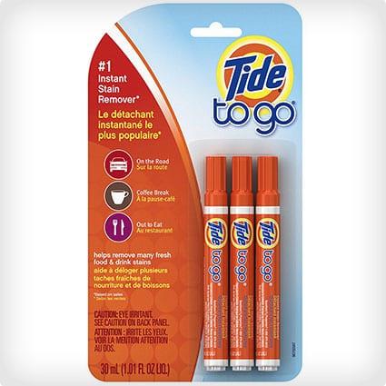 Tide To Go Instant Stain Remover Liquid Pen