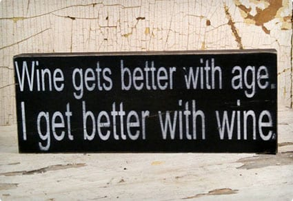 Wine Lover Sign