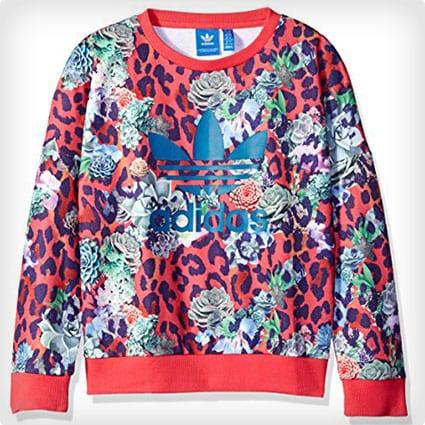 Adidas Originals Girls' Trevoil Sweatshirt