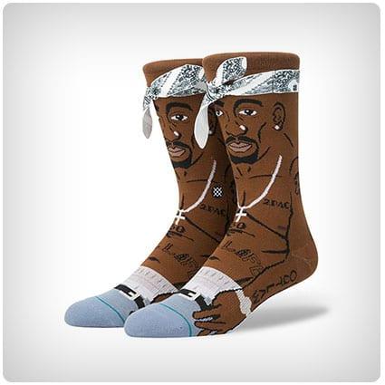 2pac Crew Socks