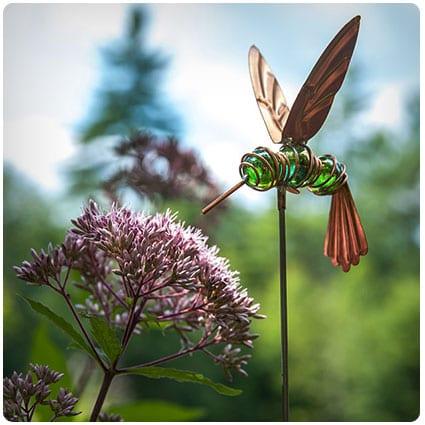 Humphrey the Hovering Hummingbird Stake