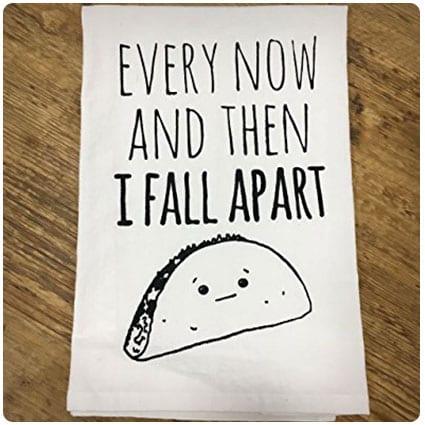 Funny Taco Kitchen Cloth