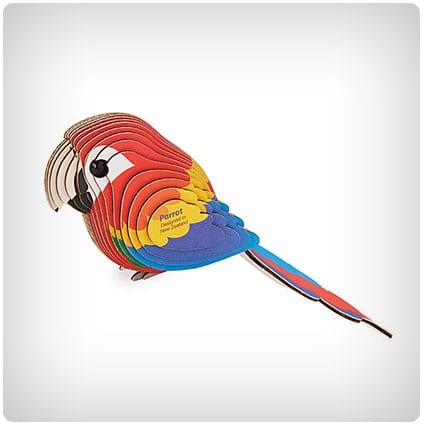 Mini Parrot 3D Model