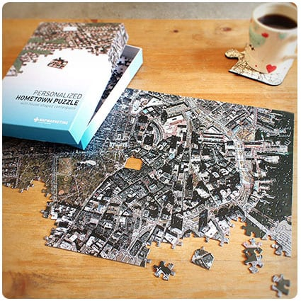 Personalized My Hometown Jigsaw Puzzle