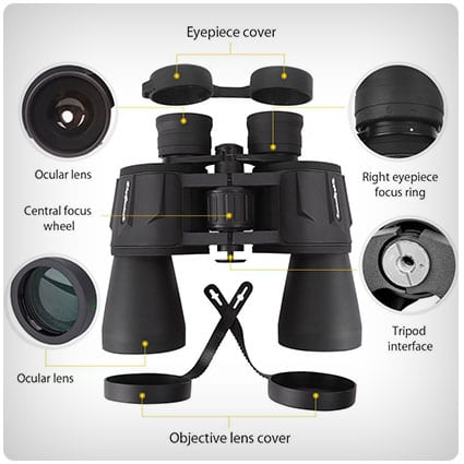Powerful Full-size Binoculars