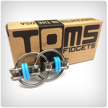 Tom's Fidgets Flippy Chain Fidget Toy