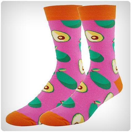 Happypop Men's NoveltyDress Crew Socks