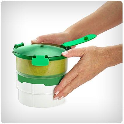 Casabella Guac-Lock Container with Tray