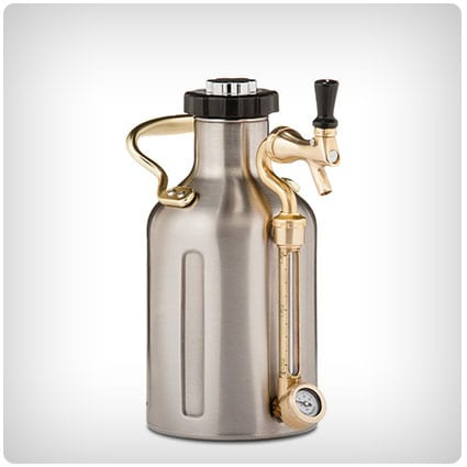 uKeg Pressurized Growler for Craft Beer