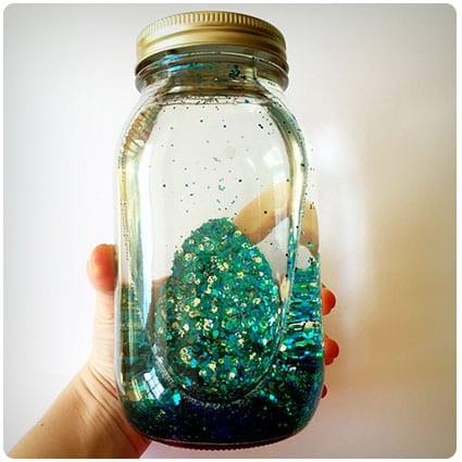 Diy Mindfulness Glitter Jar