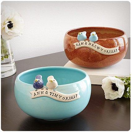 Custom Wedding Bowl