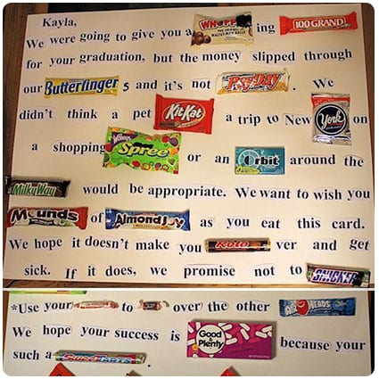 How to Make A Candy Letter