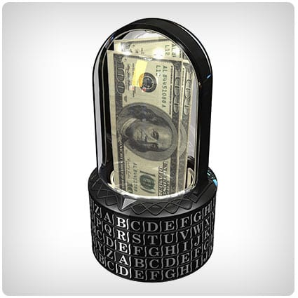 Puzzle Pod Cryptex Brain Teaser & Coin Bank