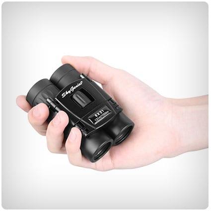 Small Compact Lightweight Binoculars