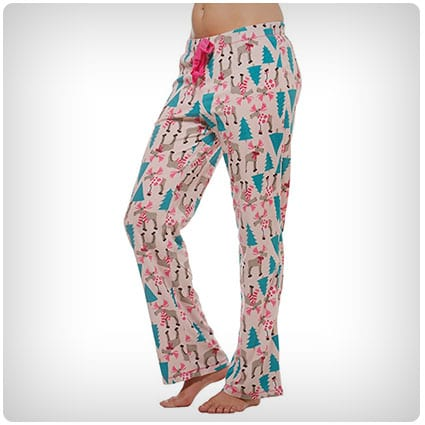 Warm Winter Fleece Lounge Pajama Bottom Pants
