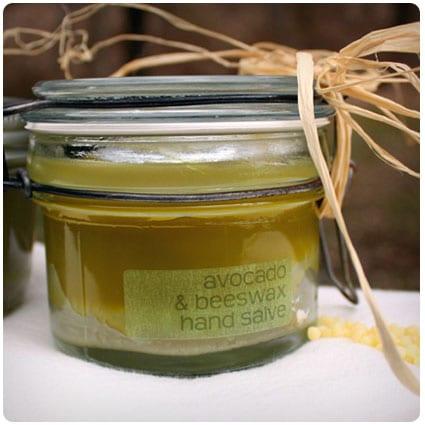 Avocado Beeswax Hand Salve