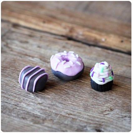 Tiny Pastry Erasers