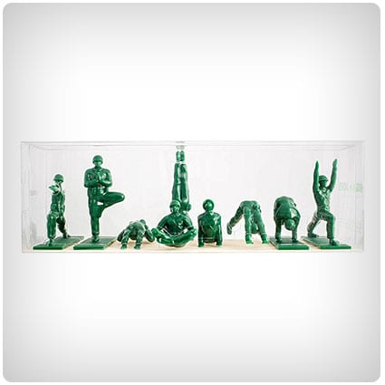 Yoga Joes Green Army Men Toys