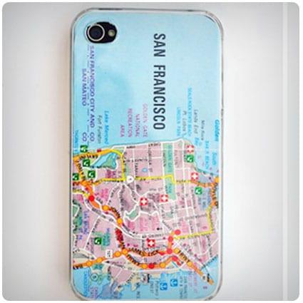 Diy Map Iphone Case