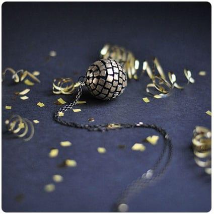 Gold Leaf Pendants