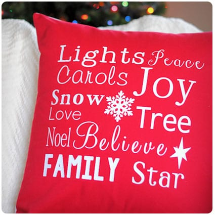 Thanksgiving and Christmas Throw Pillows