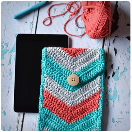 Crochet Chevron iPad Mini Case
