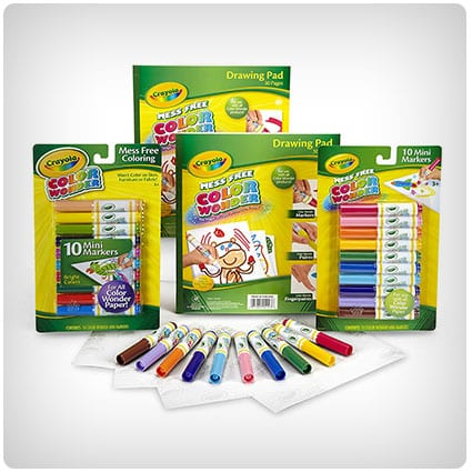 Crayola Color Wonder Markers and Paper Set