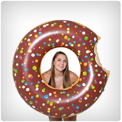 Play Platoon Jumbo Donut Pool Float