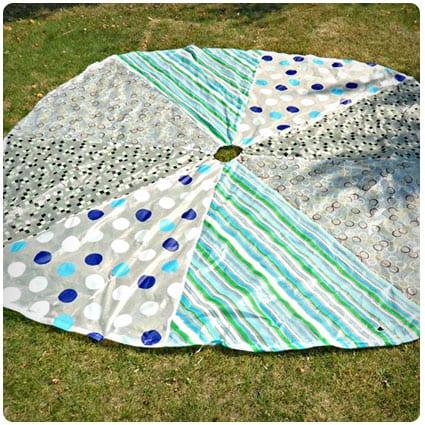 Homemade Play Parachute
