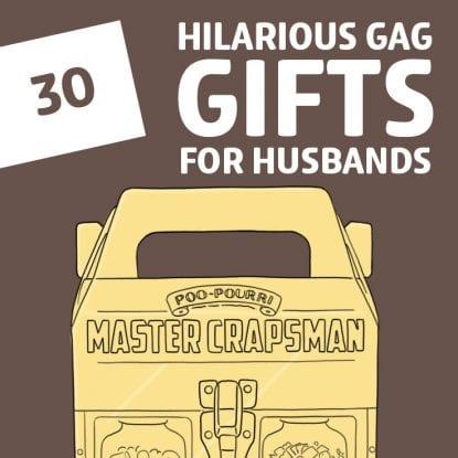 funny husband gift ideas