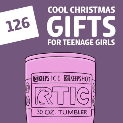111 Epic Non-Toy Christmas Gifts for Girls - Unique Girl Gift Ideas ...
